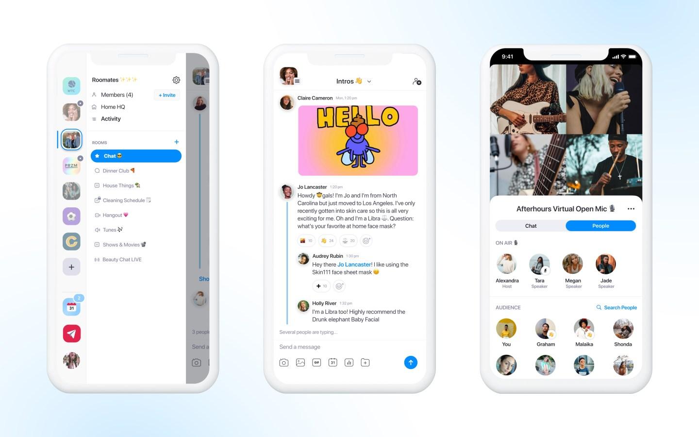 Screenshot of the Geneva iOS app